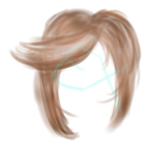Hair practice?? by ExGamerChan