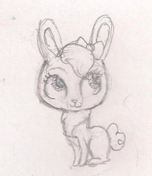 Littlest pet shop bunny by Perry--Agent