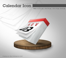 Calendar Icon by tulitotutys