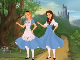 Alice and Dorothy by Kailie2122