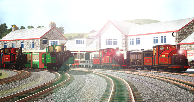God's Wonderful Little Railway by Nictrain123