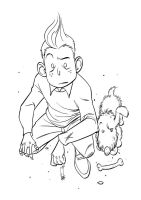 tinTIN_ink by tanglong