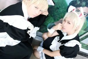 Cosplay APH -  German Maids by kei-devyluzth