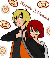 Naruto and Neoma by starfireblue