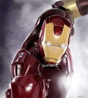 Iron Man: Perfect man machine by shiprock