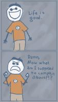 Comic Quick 5 - The complainer by danzr4ever