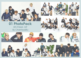 01 / BTS PUMA PhotoPack by ChanHyukRu