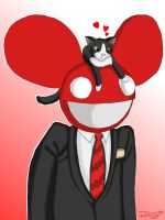Meowingtons n' Mau5 by cityinthehead