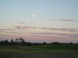 August Golf Course Sunset by Photo-Scapes