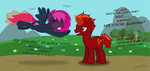 Lare's Crush by Justthebrony