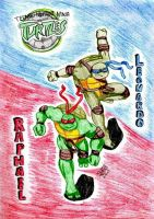 TMNT-Leo and Raph by IsisConstantine