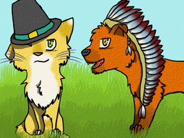 Thanksgiving 2011 by leafclan99