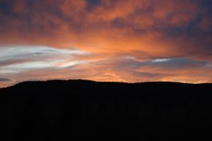 Sunrise Over Tabor Mountain by ByronGiant