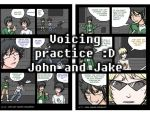 HS LC - voice acting practice Jake and John by ChibiEdo