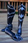 Warhammer 40k Commissar Boots by CoreyChiev