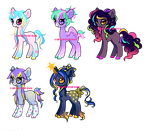 *CLOSED* - Star Themed Ponies by Carnivvorous