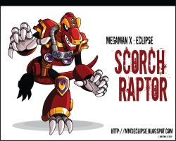 MMX Eclipse: Scorch Raptor by justicefrog