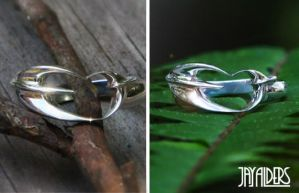 Love Birds -  Sterling Silver Ring by jayalders