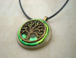 Tree of Life Necklace Men's by rowan300