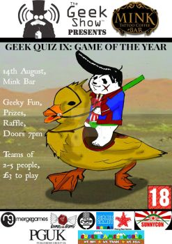 Quiz Poster 9 GOTY by TheGeekShowUK