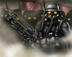 The Helghast Are Coming by CerberusLives