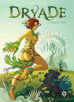 Covert of Dryade, erotic comic by StphanieLeduc