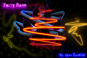 furry rave by CyrusLoneWolf