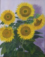 Sunflowers by Coquelicotnoir