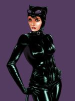 Catwoman by JoyAffliction