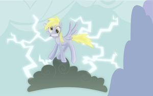 Electrocuted derpy by MrSpanyard