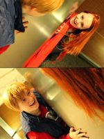 Amy and Rory: Found you! by RhymeLawliet
