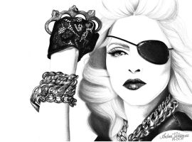 Madonna. by andreavelazquez