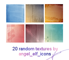 Random Icon Textures by jenlynn820