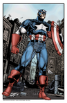 Captain America - Full Color by klerkh