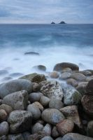 Milky waters at Porth nanven by hairycheesecake
