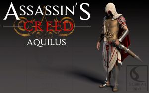 Assassin's Creed Aquilus first version by Yowan2008