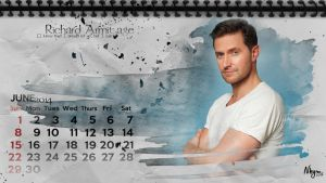 Richard Armitage June 2014 by Nhyms
