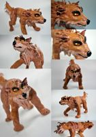 Bones-wolf figure prototype by Gashu-Monsata