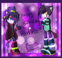 .: Happy Birthday Martina :. by Raika-chan