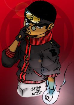 Black Naruto In Color. by Farrakhan