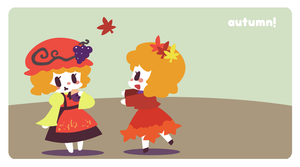 Autumn Sisters by Cindysuke