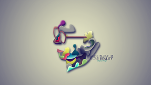abstract vector face by LegacyDesiggns