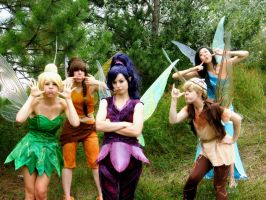 Pixie Hollow: Teasing by KoriStarfire