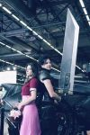 Aerith and Zack ~ Final Fantasy VII ~ Crisis Core by Dragunova-Cosplay