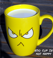Edo cup is not happy by sam22222