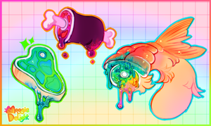 Candy Gore Platter by MoggieDelight