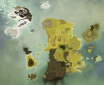Map Of DOFUS in High Quality by SoulDragonit