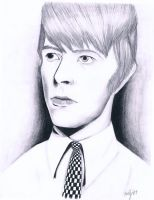 Young David Bowie by Dyslexia6