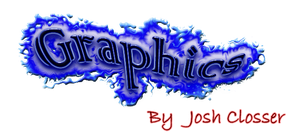 Text Graphics Logo by Josh-Closser
