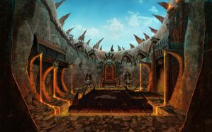Arena Inferno Colors Trono RodP by RodGallery